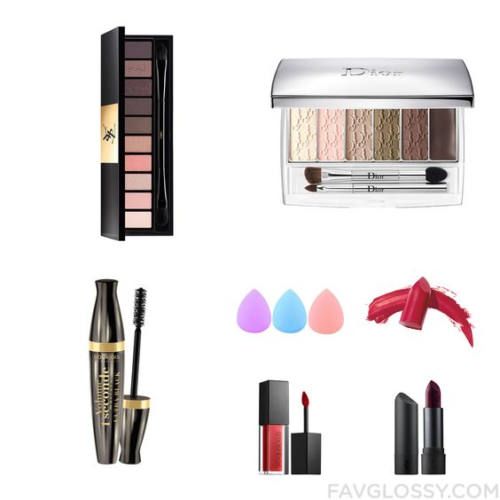 Makeup Advices Featuring Yves Saint Laurent Eyeshadow, Christian Dior, Bourjois Mascara And Powder Foundation Makeup From September 2016...