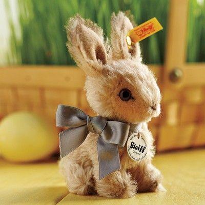 Williams-Sonoma Steiff Bunny #williamssonoma