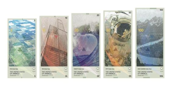 What a redesigned U.S. dollar might look like: http://slate.me/158hX6x