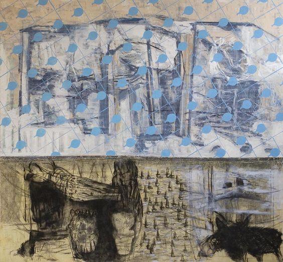 Miguel Ybáñez, La mirada que humedece mis ojos (2008). Courtesy of Grimm Gallery. Must-See Art Guide: Amsterdam - artnet News