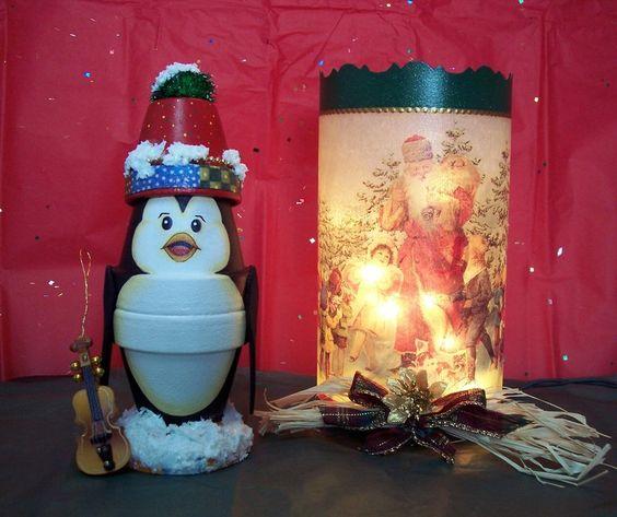 Pingouin et photophore cr ation danytodd travaux manuels for Decoration porte pingouin