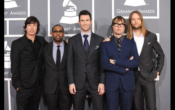 """Maroon 5 To Perform At """"The GRAMMY Nominations Concert Live!!"""" in Nashville Dec. 5. LL Cool J to Host. Tickets on sale Sept. 21.:"""