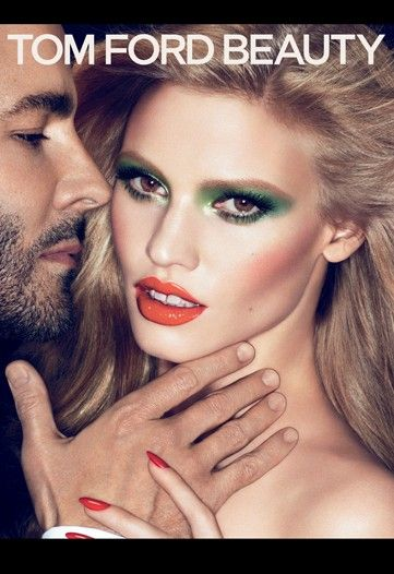 Lara Stone for Tom Ford Beauty Collection Ad Campaign Photo 1