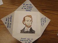 Foldable idea for social studies