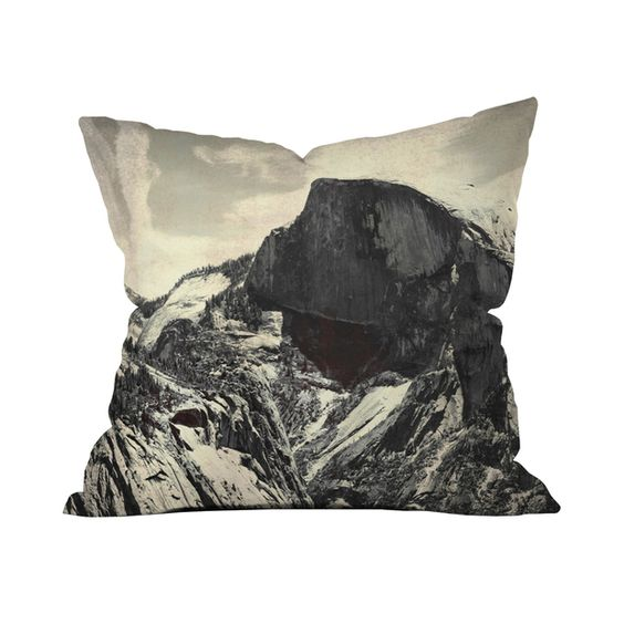 Granite Crest Throw Pillow