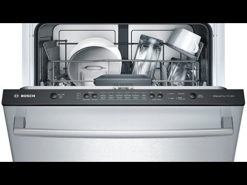 Bosch Dishwasher Not Draining Fast And Easy Fix Youtube