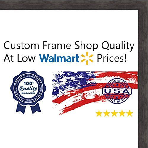 10x20 Flat Charcoal Grey Wood Frame The Edge Thin Great For Posters Photos Wood Picture Frames Picture On Wood Whitewash Wood