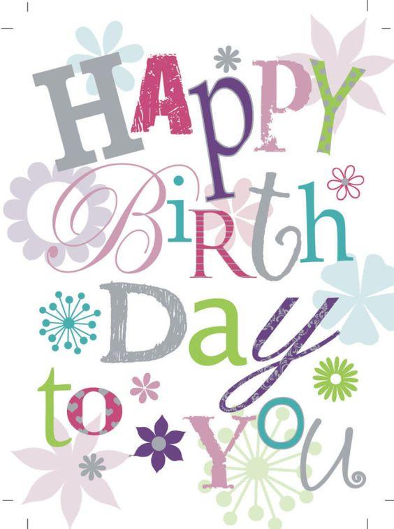 Van harte gefeliciteerd met jouw verjaardag. En nog vele