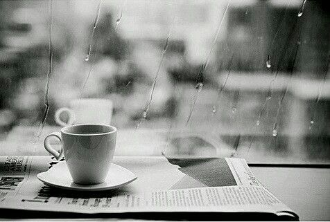 Coffee & rain....perfect day: