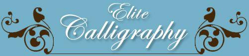 Wedding and Invitation Calligraphy