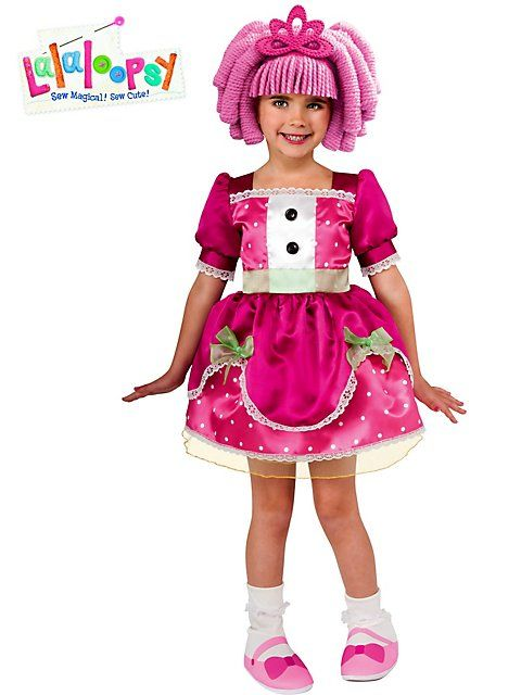 Girl's Deluxe Lalaloopsy Jewel Sparkles Costume - Cartoon Characters Party Costumes