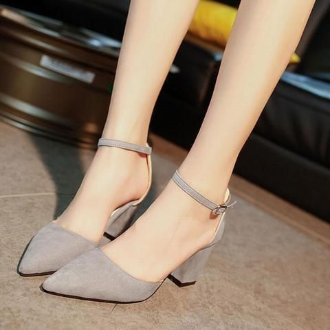 Elevin 2018Summer Women Shoes Pointed Pumps Shoes High Heels Shoes Wedding Stiletto Shoes TM
