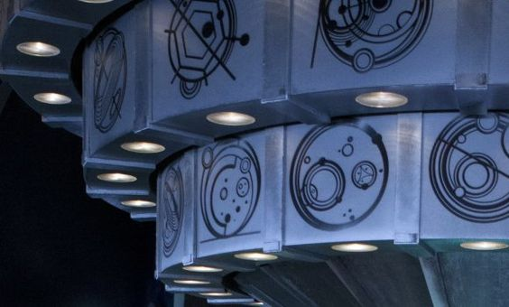 Doctor Who - first look at the new Tardis design