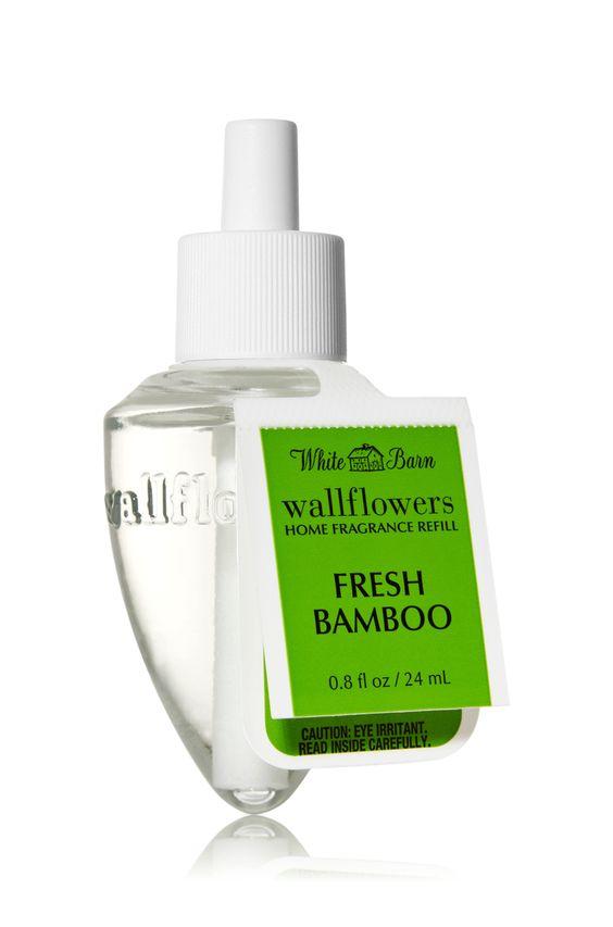 $6.50 Fresh Bamboo Wallflowers Fragrance Bulb - Slatkin & Co. - Bath & Body Works