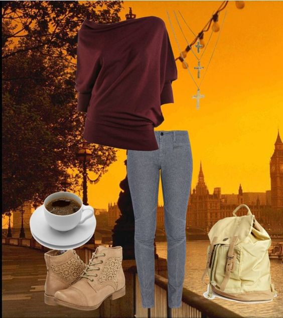 """London Evening"" by grace-bryant98 on Polyvore"