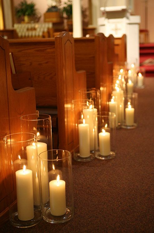 the warm glow of candlelight creates a romantic effect