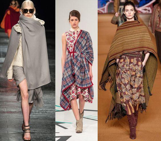 Orly Shani: DIY Blanket Poncho