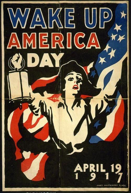 James Montgomery Flagg - Wake Up America!