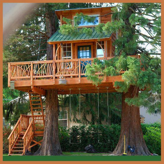 Treehouse & tree houses & more #Treehouses