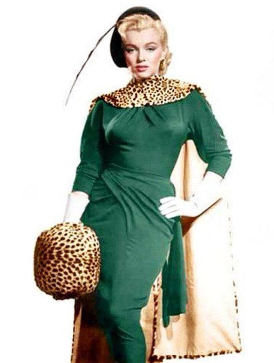 "Marilyn Monroe ""Gentlemen Prefer Bondes"" Wardrobe Test 1953 -"