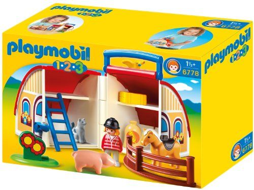 Playmobil – 6778 – Jeu de Construction – Ferme Transportable | Your #1 Source for Toys and Games