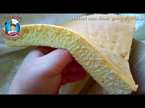 الكيك المهتز الياباني الي اثار دهشة العالم بكأس دقيق فقط Youtube Food Cake Deserts