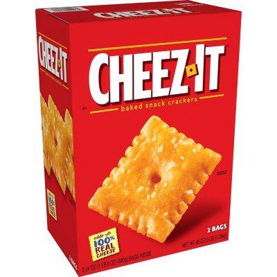 Cheez It Original Crackers 24 Oz 2 Pk Sam S Club Cheez It Squishy Food Snacks