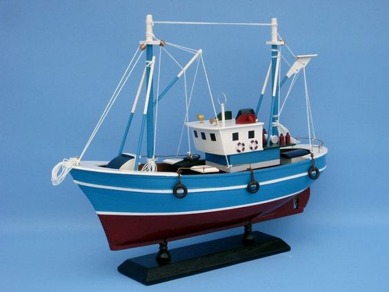 "wooden fish finder model boat 14"" ship model for sale - fishing, Fish Finder"