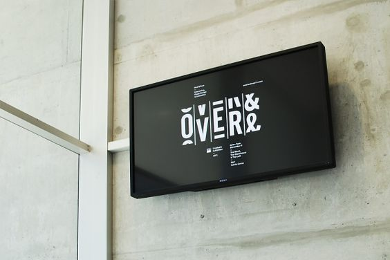 Designspiration — Over and Over Exhibition : Luke Robertson