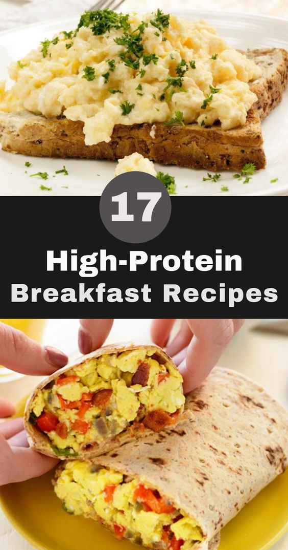 17 High-Protein Breakfast Recipes to Help You Power Through the Day