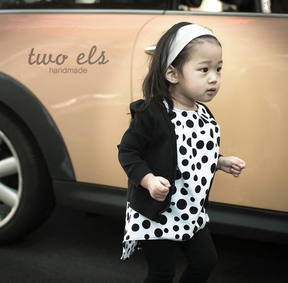 Polka Dress by Two els.