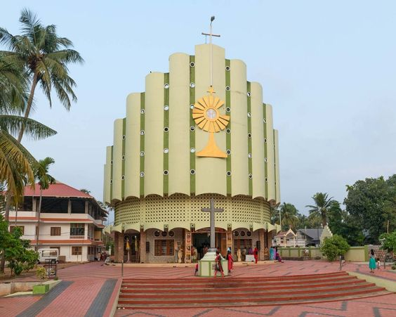 The Polychromatic Postcolonial Churches Of Southern India Shine