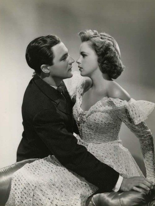 Two of my favourite film stars - Gene Kelly and Judy Garland: