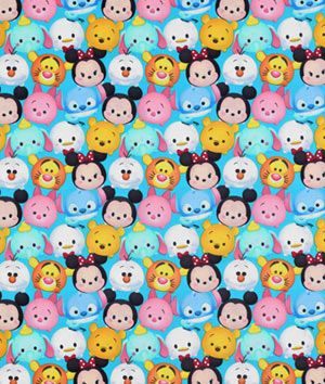 Springs+Creative+Disney+Tsum+Tsum+Mickey+&+Friends+Packed+Fabric
