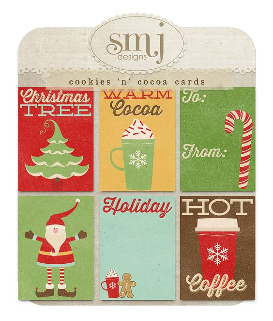 Cookies 'n' Cocoa Cards | Shabby Miss Jenn Designs