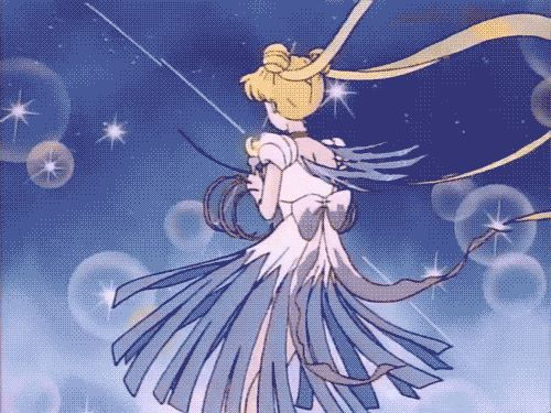 """Sailor Moon"" opening theme - Princess Serenity (.gif)"