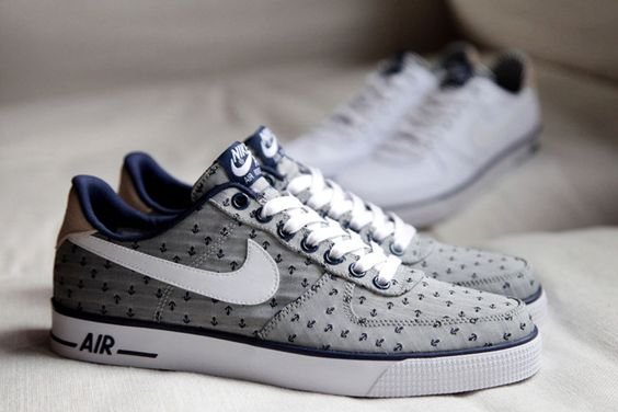 "#Nike Air Force 1 AC PRM QS Spring 2014 ""Navy"" Pack #sneakers"