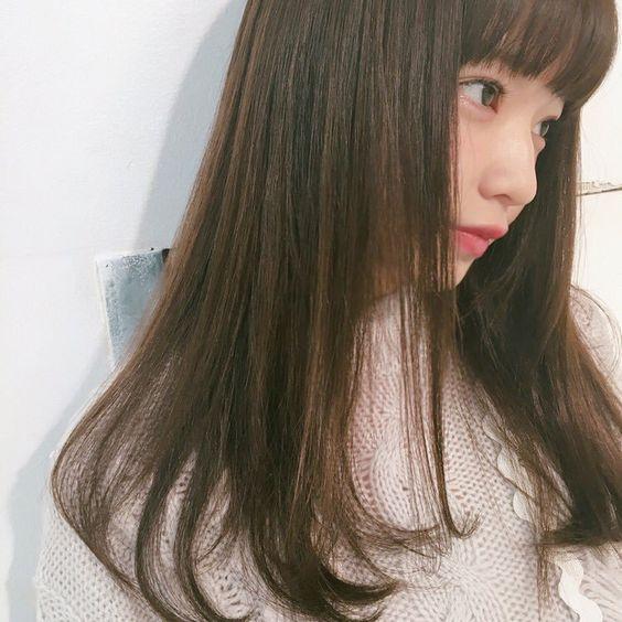 サラサラヘアーの田中芽衣