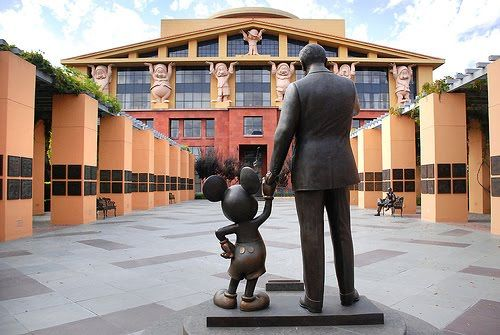 Disney Studios, Burbank, California. I spent a lot of time here researching old Mickey shorts/comics in the Disney archives. What a privilege!