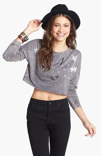 JC Fits Star Crop Top (Juniors) (Online Only) on shopstyle.com