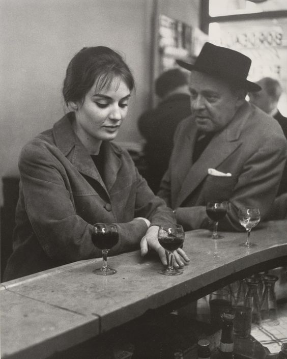 dubstepcholla — the-night-picture-collector:   Robert Doisneau, At...