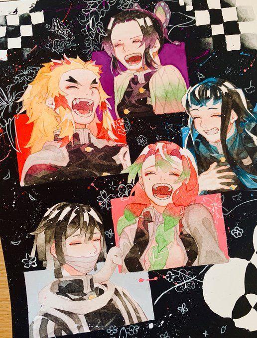 تويتر Banshee على تويتر Kny X Harry Potter I Had So Much Fun With These Happy Halloween Everyone 鬼滅の刃 Ki Slayer Anime Anime Anime Characters