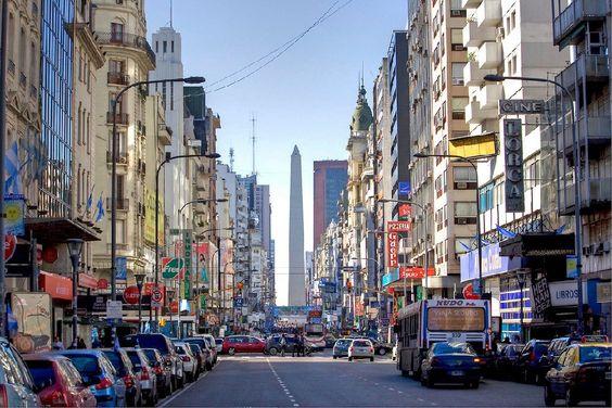 Buenos Aires, Argentina - Avenida Corrientes