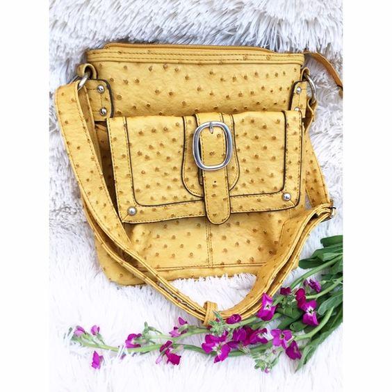 faux ostrich handbag pink