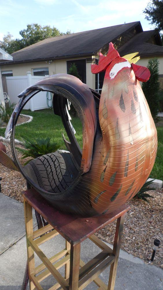 Pinterest the world s catalog of ideas for Car tire flower planter