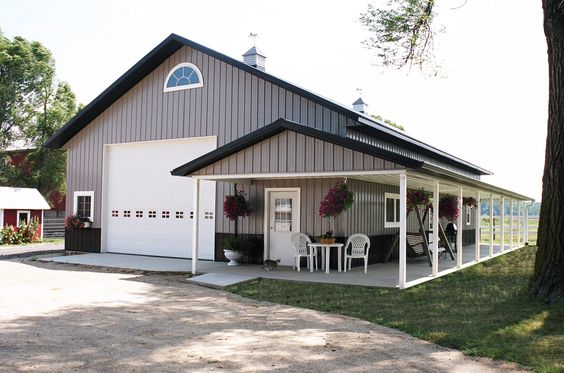 Pinterest the world s catalog of ideas for Residential pole barn homes