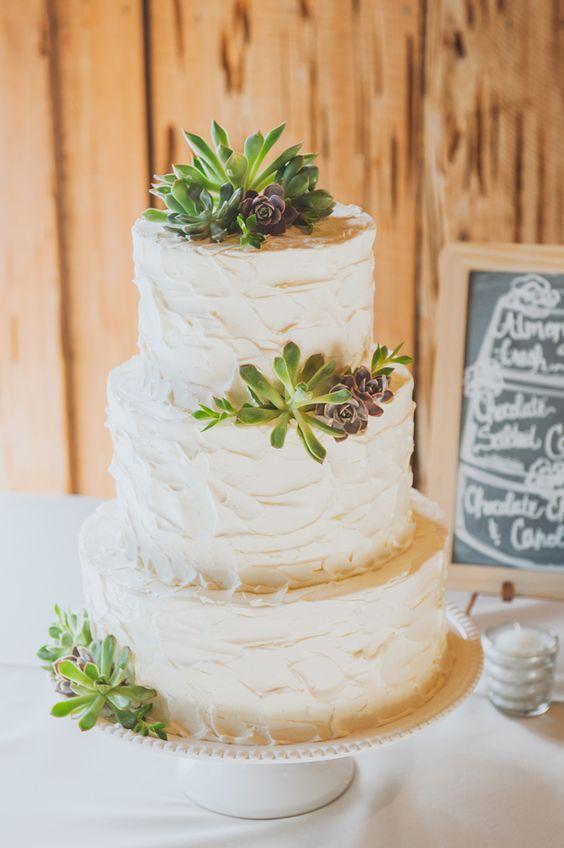 Растения като декорации за сватбени торти