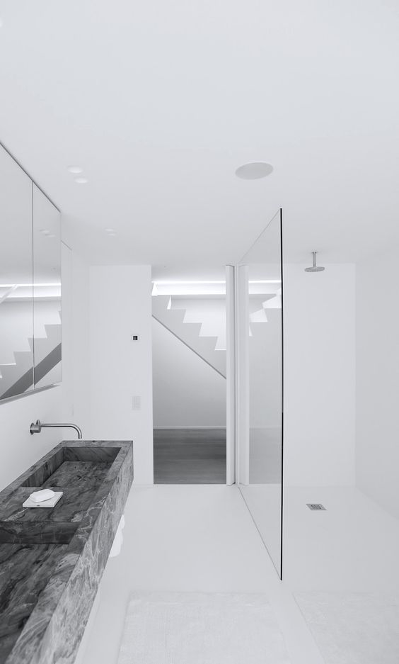 Bathroom by Govaert & Vanhoutte.