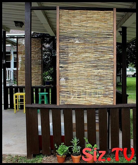 24 Spectacular Things To Make From Bamboo In The Garden Diy Privacy Screen Bamboo Privacy Privacy Screen Outdoor