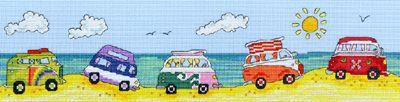 VW Fun Cross Stitch Kit by Bothy Threads